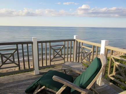 East Dennis Cape Cod vacation rental - The view from 2nd floor deck