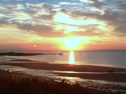 East Dennis Cape Cod vacation rental - Glorious sunsets abound