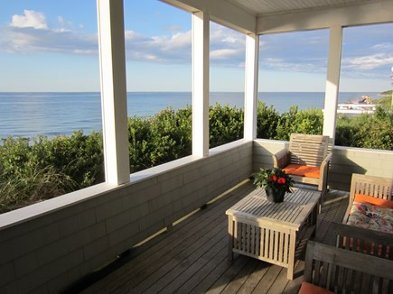 East Dennis Cape Cod vacation rental - Porch off Living Room