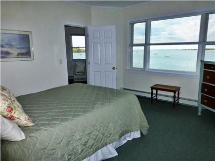 Bourne, Monument  Beach Cape Cod vacation rental - The master bedroom offers stunning harbor views