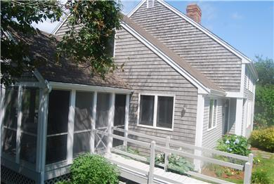 Barnstable Cape Cod vacation rental - Handicapped Accessible with ramp to porch and kitchen door