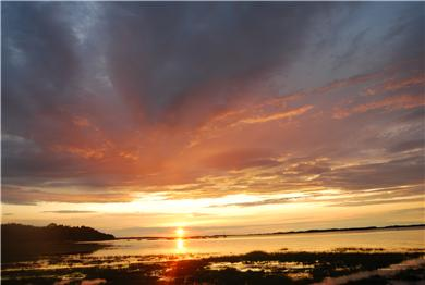 Barnstable Cape Cod vacation rental - Sunset over the Marsh