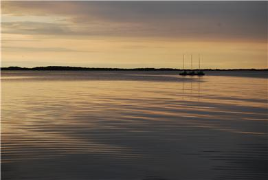 Barnstable Cape Cod vacation rental - Dusk on Barnstable Harbor