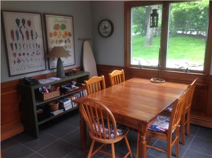 Barnstable Cape Cod vacation rental - Kitchen dining table