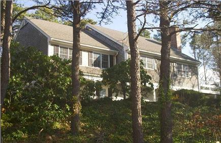 East Orleans Cape Cod vacation rental - Front of house overlooks serene hillside conservation lands