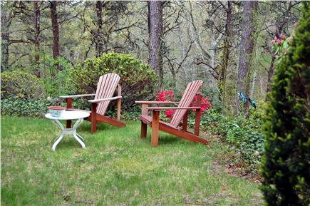 East Orleans Cape Cod vacation rental - Front sitting area overlooks conservation lands