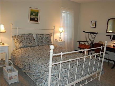 East Orleans Cape Cod vacation rental - Air conditioned master bedroom with queen bed & walk in closet