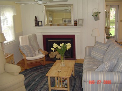 South Yarmouth Cape Cod vacation rental - Comfortable living room