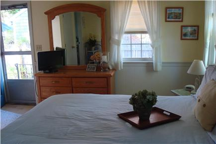 South Yarmouth Cape Cod vacation rental - Master Bedrm w/full Bath & Access to Backyard & Outside Shower