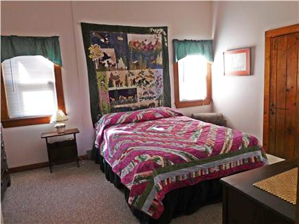 W. Dennis Cape Cod vacation rental - Large bedroom features queen sized bed
