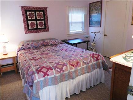 W. Dennis Cape Cod vacation rental - Cozy bedroom features queen sized bed