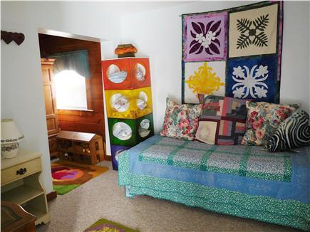 W. Dennis Cape Cod vacation rental - Bedroom with day bed and trundle bed