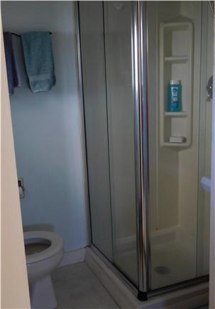 W. Dennis Cape Cod vacation rental - Bathroom with stall shower
