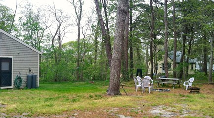 Wellfleet Cape Cod vacation rental - Large private back yard