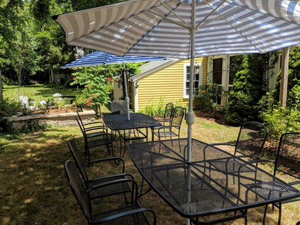 Eastham Cape Cod vacation rental - Backyard Picnic