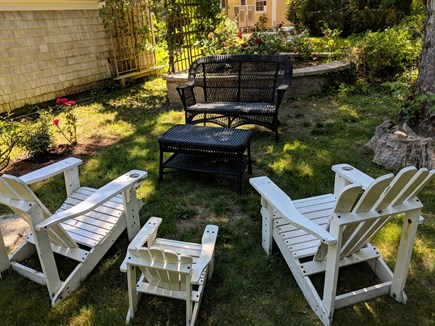 Eastham Cape Cod vacation rental - Relax in the Rose Garden