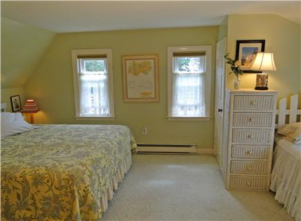 Falmouth Cape Cod vacation rental - Upstairs master bedroom with King and twin bed