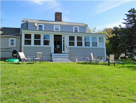 Falmouth Cape Cod vacation rental - Room to play and lounge in the back yard