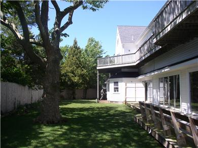 West Dennis Cape Cod vacation rental - Expansive decks and manicured grounds abound