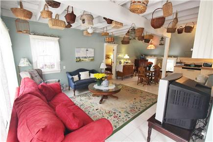 West Dennis Cape Cod vacation rental - View of Living Room