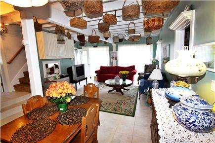 West Dennis Cape Cod vacation rental - From dining room to living room, great open space