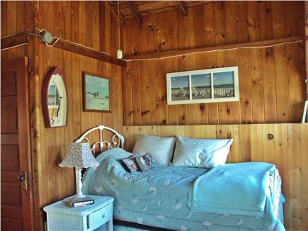 Dennisport Cape Cod vacation rental - Oversized bedroom upstairs  w/day bed (makes a king) & queen bed