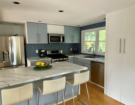 Provincetown Cape Cod vacation rental - Updated kitchen with new appliances and countertops