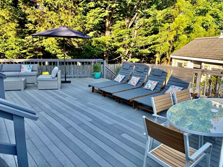 Provincetown Cape Cod vacation rental - Outdoor lounges, seating area and outdoor dining are new updates