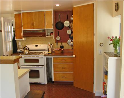 East Orleans Cape Cod vacation rental - Country style kitchen