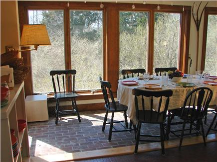 East Orleans Cape Cod vacation rental - Dining area accommodates 7