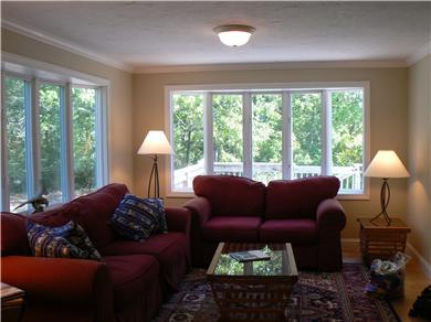 Dennisport Cape Cod vacation rental - Cozy family room