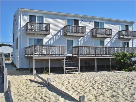 Centerville, Craigville Beach Centerville vacation rental - View of the condominiums from the beach