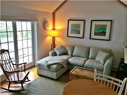 New Seabury, Mashpee New Seabury vacation rental - Living Room with French doors to brick patio