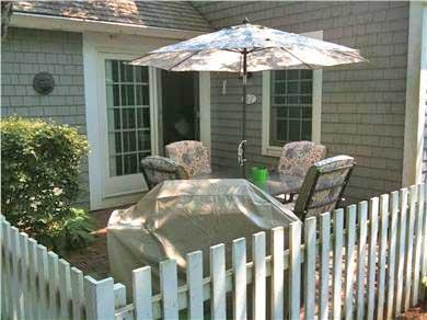 New Seabury, Mashpee New Seabury vacation rental - Back patio