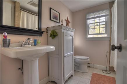 Brewster Cape Cod vacation rental - Bathroom with tub & shower