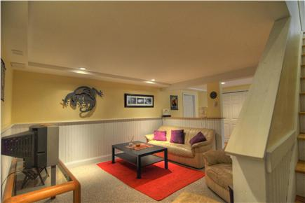 Brewster Cape Cod vacation rental - Newly finished basement living space