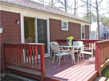 South Yarmouth Cape Cod vacation rental - Sit outside on deck with a great book or afternoon beverage