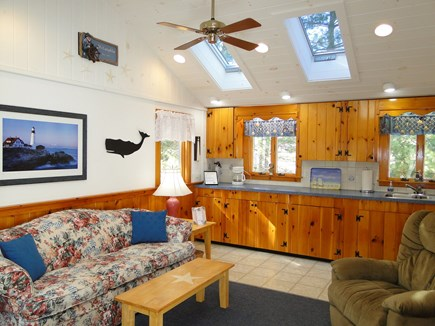 So. Chatham Cape Cod vacation rental - Bright and sunny living area