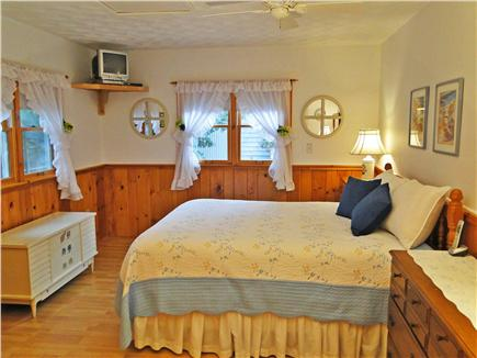 So. Chatham Cape Cod vacation rental - Spacious queen master bedroom with master bath & TV
