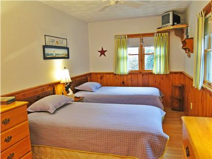 So. Chatham Cape Cod vacation rental - Twin bedroom with TV