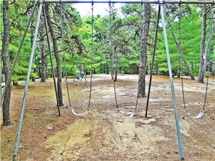 So. Chatham Cape Cod vacation rental - Neighborhood park with swings, plenty of room to play