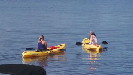 Wareham MA vacation rental - Kayaks and life jackets.