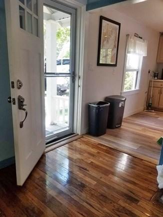 Wareham MA vacation rental - Front Door Entrance Way.