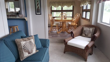 Wareham MA vacation rental - Back room overlooking the water