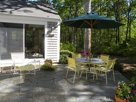 Centerville, Bordering West Hyannisport  Centerville vacation rental - Patio off dining and living rooms