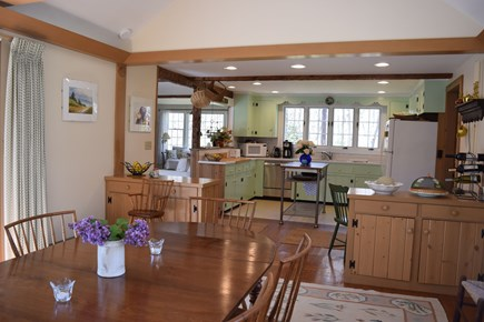 Centerville, Bordering West Hyannisport  Centerville vacation rental - Looking into Kitchen from Dining Room