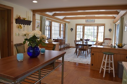 Centerville, Bordering West Hyannisport  Centerville vacation rental - Looking into Dining room from Kitchen