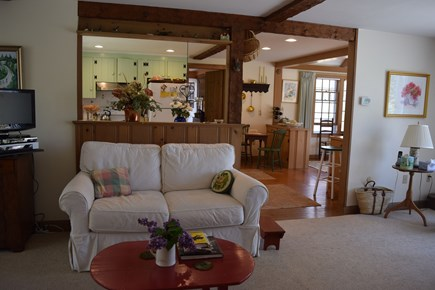 Centerville, Bordering West Hyannisport  Centerville vacation rental - View into Kitchen/ Dining Room form Living Room