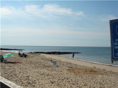 Dennisport Cape Cod vacation rental - Glendon Beach right across the street!