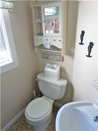 Dennisport Cape Cod vacation rental - Half bath off kitchen